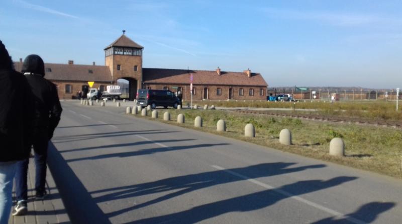 Des lycéens à Auschwitz
