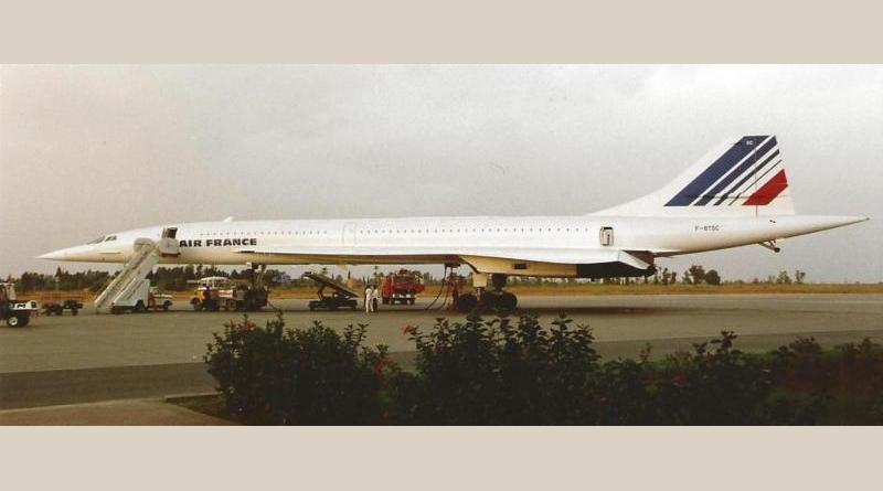 Concorde et moi