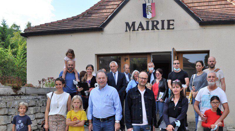 Accueil des nouveaux arrivants à Gaillon